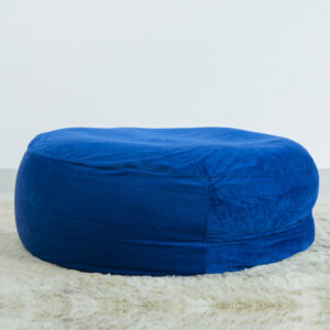 Ghe Luoi Dream Beanbag Jumpo Medium Velvet Blue 2.jpg