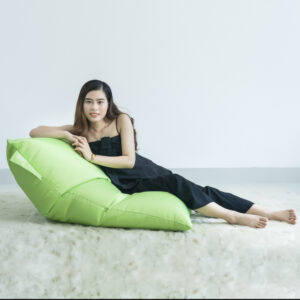 Ghe Luoi Dream Beanbag Original Junior Small Olefin Green 1.jpg