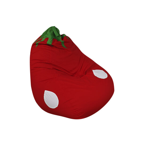 Ghe Luoi Dream Beanbag Pear Strawberry Large Micro Red (5)