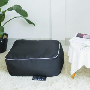 Ghe Luoi Dream Beanbag Rubik Olefin Black 1.jpg
