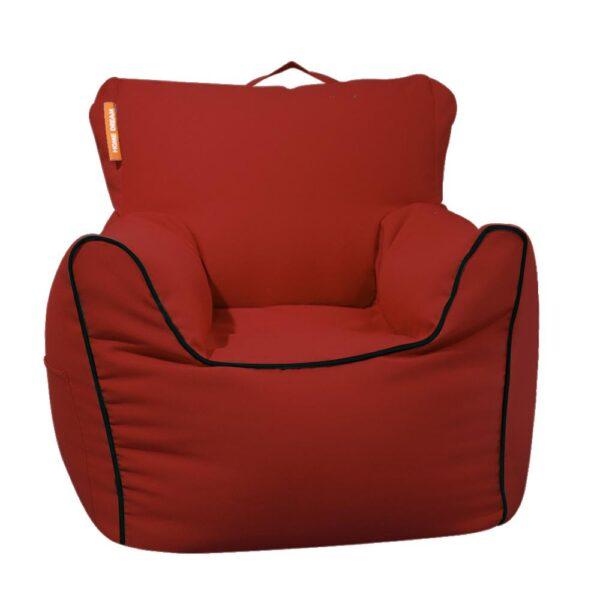 Ghe Luoi Home Dream Sofa Chair Canvas Red