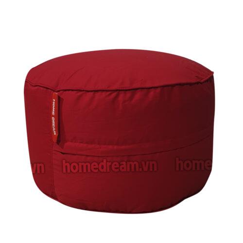 Ghe Luoi Dream Beanbag Cube Canvas Red