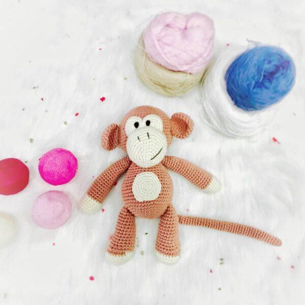 Ghe Luoi Home Dream Thu Bong Handmade Buzz Monkey 2