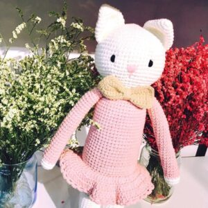 Ghe Luoi Home Dream Thu Bong Handmade Mia Cat
