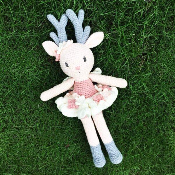 Ghe Luoi Home Dream Thu Bong Handmade Tuan Loc Reindeer