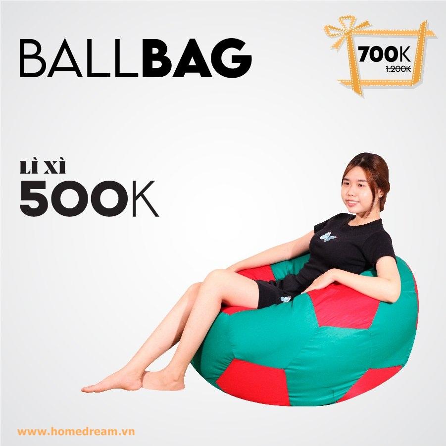 Ballbag rêu Neon Lì Xì 500K