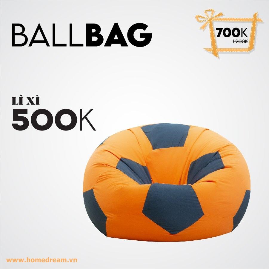 Ballbag Cam Neon Lì Xì 500K
