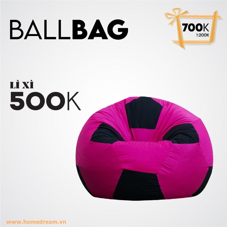 Ballbag Hồng Lì Xì 500K