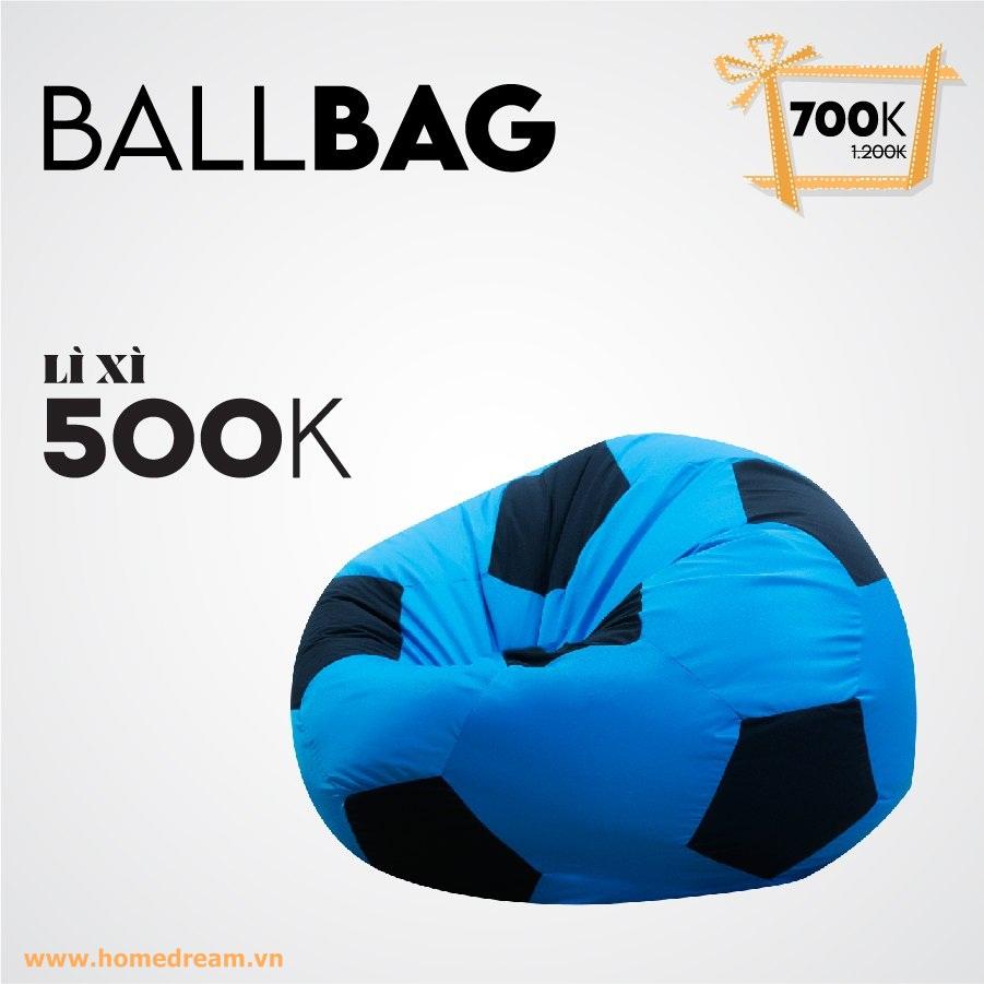 Ballbag Xanh duong Lì Xì 500K