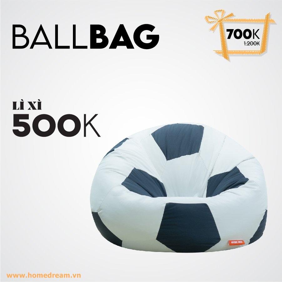 Ballbag Kem Lì Xì 500K