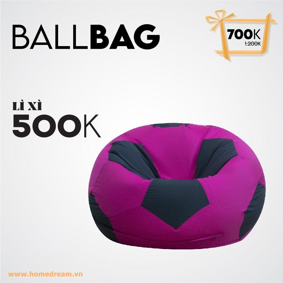 Ballbag Tím Lì Xì 500K