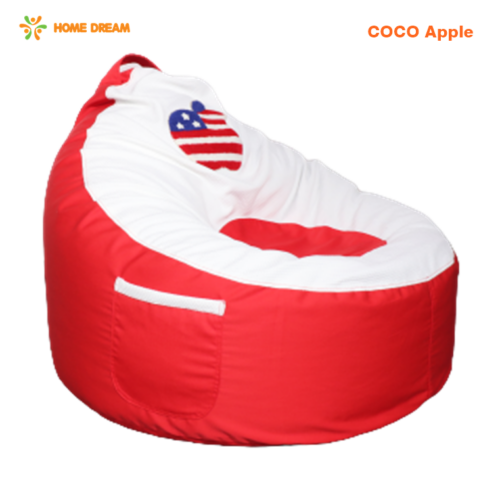 ghe luoi coco apple red